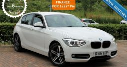 2015 BMW 1 Series 1.6 118i Sport Hatch (s/s) 5dr £11500 (SOLD)