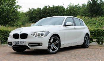 2015 BMW 1 Series 1.6 118i Sport Hatch (s/s) 5dr £11500 (SOLD) full
