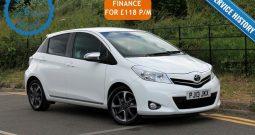 2013 Toyota Yaris 1.33 VVT-i Trend 5dr £5895