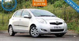 2011 Toyota Yaris 1.33 VVT-i T Spirit 5dr £3295