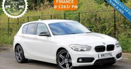 2017 BMW 1 Series 1.5 118i Sport (s/s) 5dr £12995–SOLD
