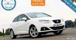 2011 SEAT Ibiza 1.4 16v SE Copa Sport Coupe 3dr £4395
