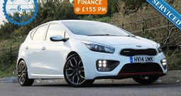2014 Kia Ceed 1.6 T-GDi GT Tech 5dr £7700