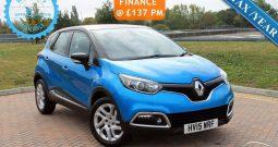 2015 Renault Captur 0.9 TCe ENERGY Dynamique MediaNav (s/s) 5dr £6495
