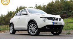 2012 Nissan Juke 1.6 16v Acenta Premium 5dr £6150