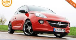 2013 Vauxhall ADAM 1.2 ecoFLEX 16v GLAM (s/s) 3dr