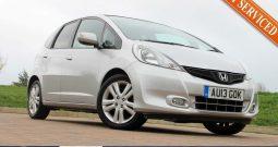 2013 Honda Jazz 1.4 i-VTEC EX 5dr