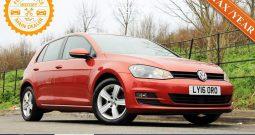2016 Volkswagen GOLF 1.4 MATCH EDITION TS